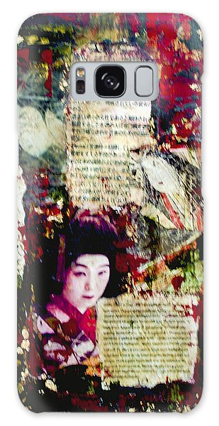 Geisha Galaxy Case by Debra Crank
