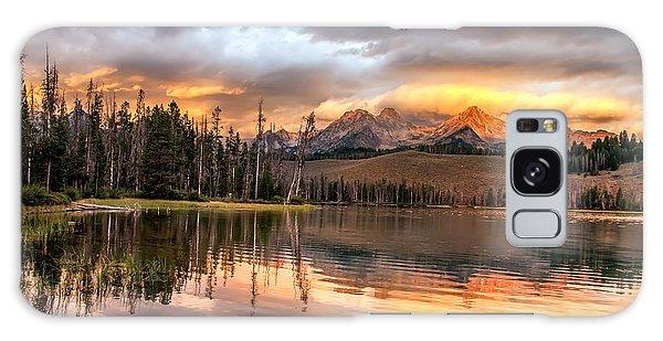 Haybale Galaxy Case - Golden Sunrise by Robert Bales