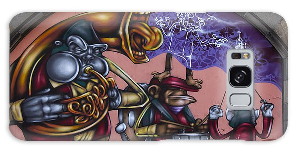 Graffiti House Galaxy Case