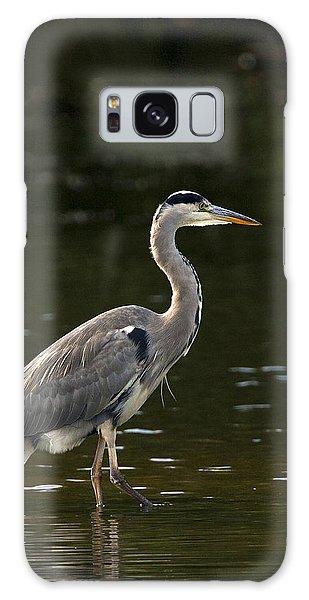 Grey Heron  Galaxy Case