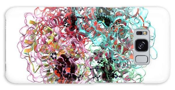 Molecular Biology Galaxy Case - Haemoglobin Molecule by Animate4.com/science Photo Libary