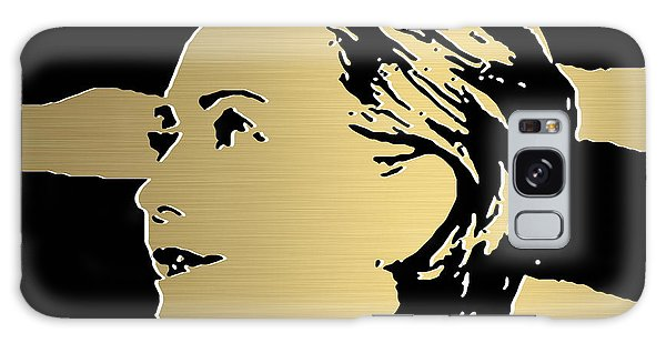 Hillary Clinton Gold Series Galaxy Case by Marvin Blaine