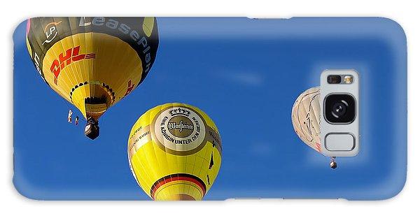 3 Hot Air Balloon Galaxy Case by John Swartz