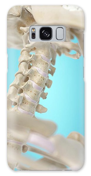 No-one Galaxy Case - Human Cervical Spine by Sciepro