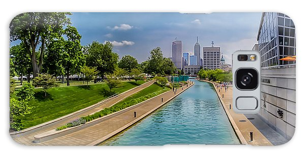 Indianapolis Skyline From The Canal Galaxy Case