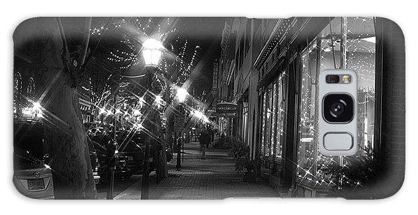 It's Christmas Time In The City Galaxy Case by Living Color Photography Lorraine Lynch