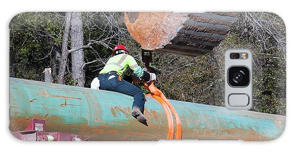Controversial Galaxy Case - Keystone Xl Pipeline Construction by Jim West
