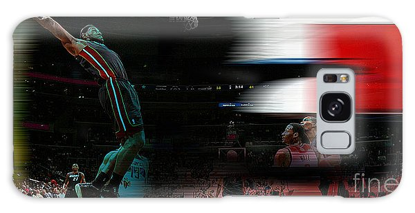 Lebron James Galaxy Case by Marvin Blaine
