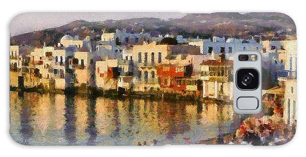 Little Venice In Mykonos Island Galaxy Case