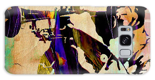 Louis Armstrong Collection Galaxy Case by Marvin Blaine