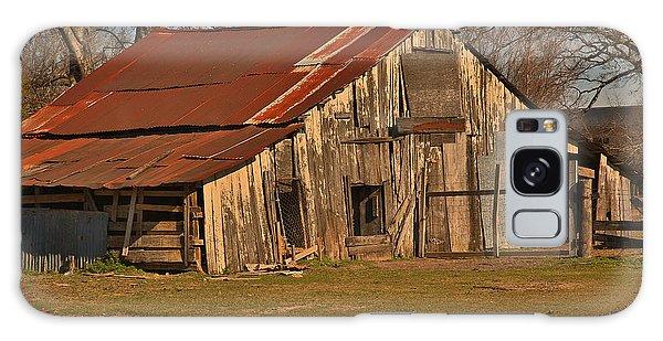 Louisiana Cajun Cypress Barn Galaxy Case by Ronald Olivier
