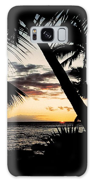Maui Sunset Galaxy Case