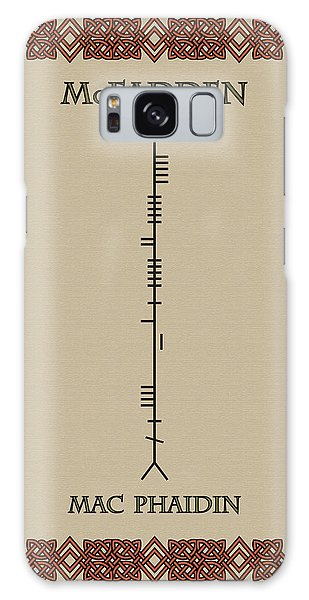Mcfadden Written In Ogham Galaxy Case