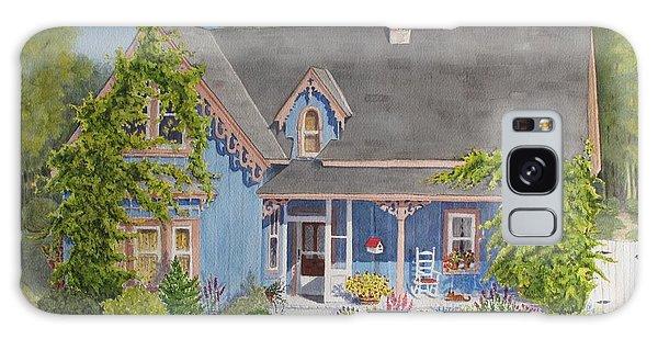 My Blue Heaven Galaxy Case by Mary Ellen Mueller Legault