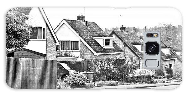 Bury St Edmunds Galaxy Case - Neighborhood by Tom Gowanlock