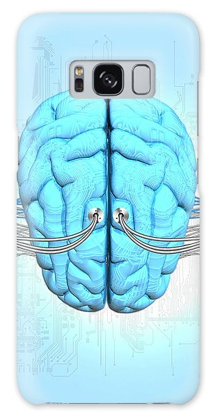 Biomedical Engineering Galaxy Case - Neuromorphic Engineering by Victor Habbick Visions