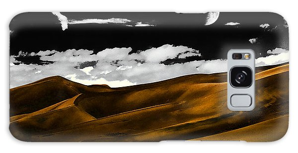 Night At The Great Sand Dunes Galaxy Case