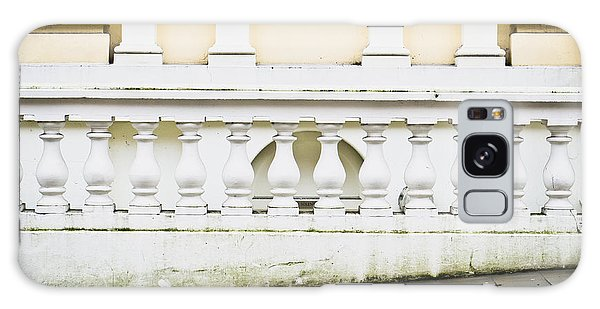 Banister Galaxy Case - Old Architecture by Tom Gowanlock