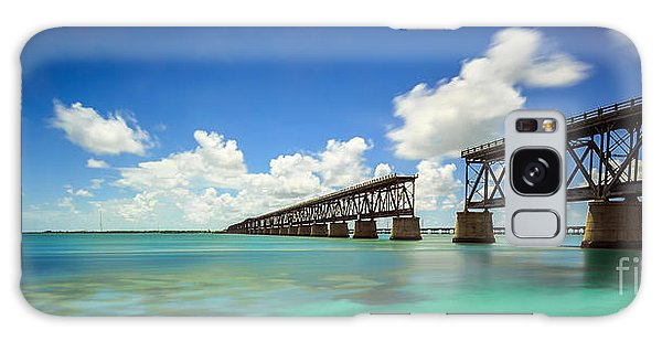 Old Bahia Honda Bridge Florida Keys Galaxy Case