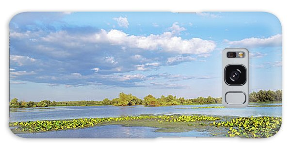 Sea Lily Galaxy Case - Panorama Of Lakes And Channels by Martin Zwick