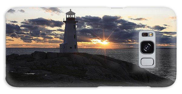Peggy's Cove Lighthouse Nova Scotia Canada Galaxy Case