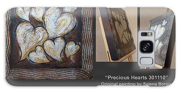 Precious Hearts 301110 Galaxy Case