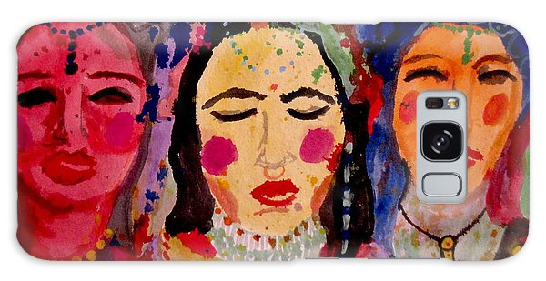 3 Queens Of Color Galaxy Case