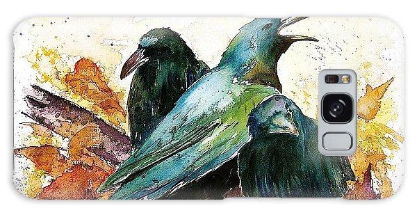 3 Ravens Galaxy Case