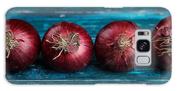Red Onions Galaxy Case