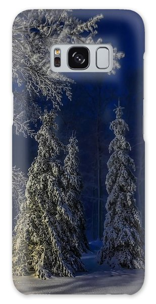 Rib Mountain State Park Snow Galaxy Case