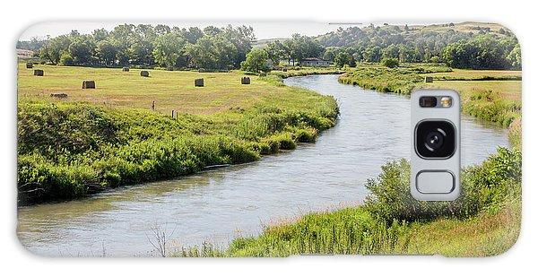 River In The Nebraska Sandhills Galaxy Case