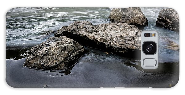 Rocks In The River Galaxy Case
