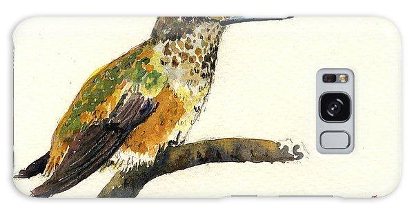 Hummingbird Galaxy S8 Case - Rufous Hummingbird by Juan  Bosco