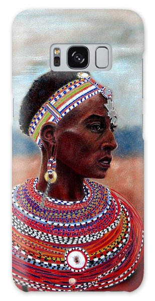 Samburu Woman Galaxy Case