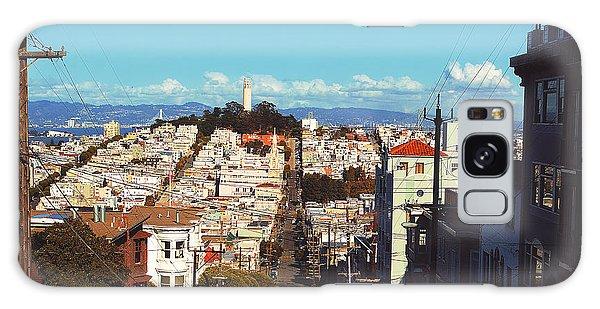 Traveler Galaxy Case - San Francisco  by Kenny Noddin