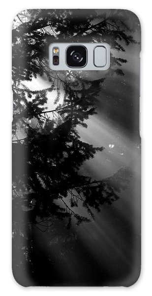 September Morning Galaxy Case by Loni Collins