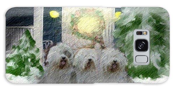 3 Sheepdogs Galaxy Case