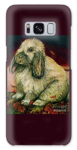 Some Bunny Is A Honey Galaxy Case by Linda Simon