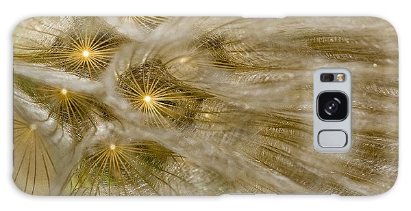 Spun Gold Galaxy Case by Betty Depee