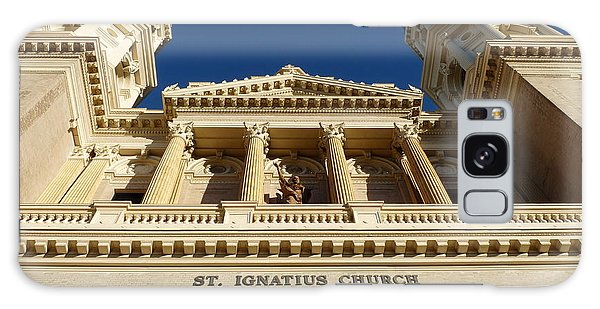 St. Ignatius Catholic Church Galaxy Case by Jeff Lowe