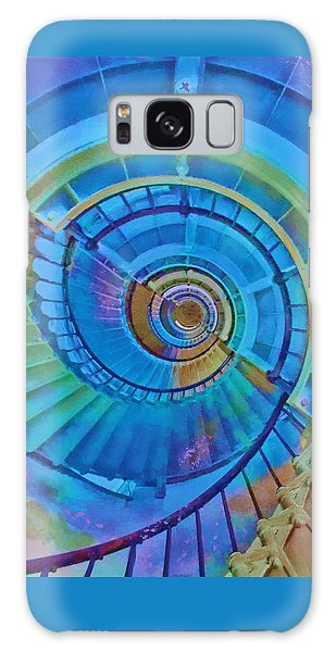 Galaxy Case featuring the painting Stairway To Lighthouse Heaven by Deborah Boyd