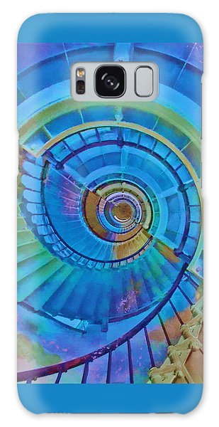 Stairway To Lighthouse Heaven Galaxy Case