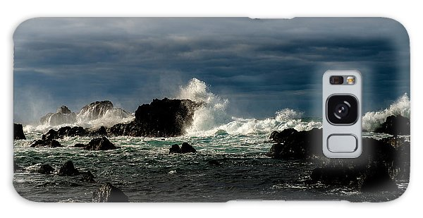 Stormy Seas And Skies  Galaxy Case
