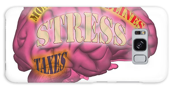 Anguish Galaxy Case - Stress by Scott Camazine