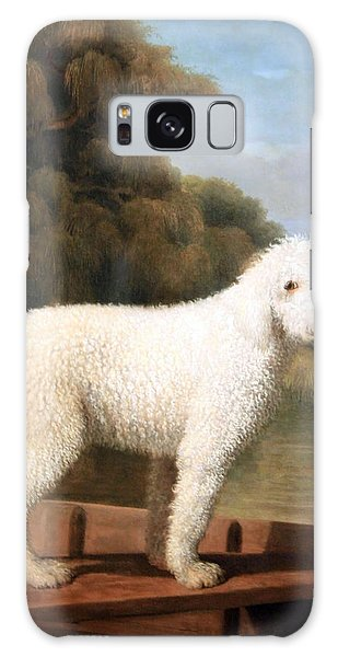 Stubbs' White Poodle In A Punt Galaxy Case