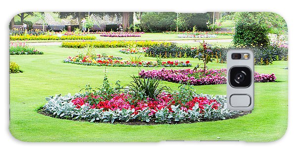 Bury St Edmunds Galaxy Case - Summer Garden by Tom Gowanlock