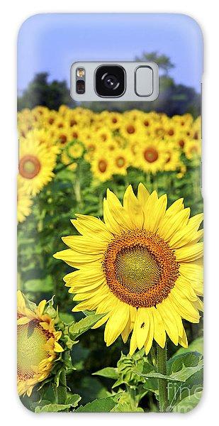 Fields Galaxy Case - Sunflower Field by Elena Elisseeva
