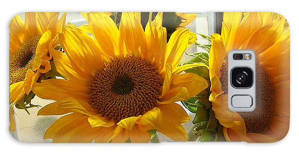 3 Sunflowers Galaxy Case