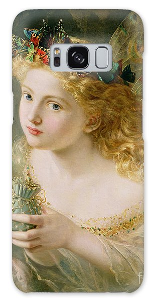 Take The Fair Face Of Woman Galaxy Case by Sophie Anderson