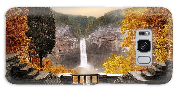 Galaxy Case featuring the photograph Taughannock Falls by Jessica Jenney